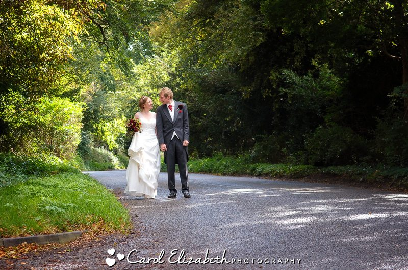 Professional wedding photography at Lains Barn
