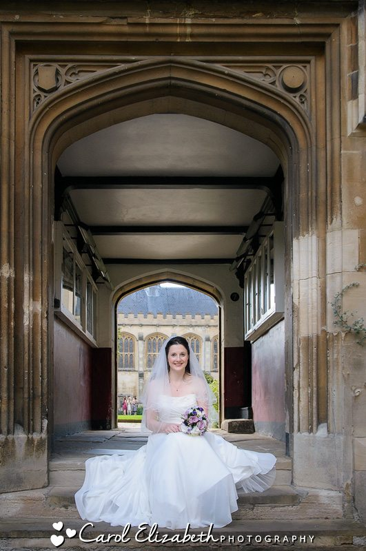 Natural wedding photography at Pembroke College weddings