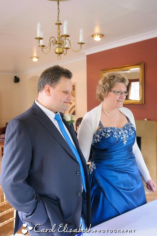 Bignell Park wedding ceremony