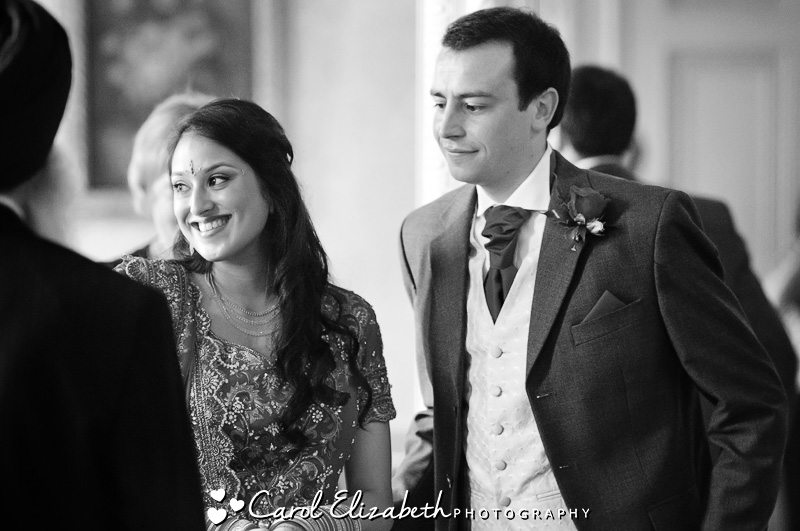 Heythrop Park reportage wedding photography
