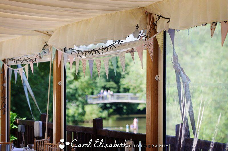 Cherwell Boathouse wedding reception
