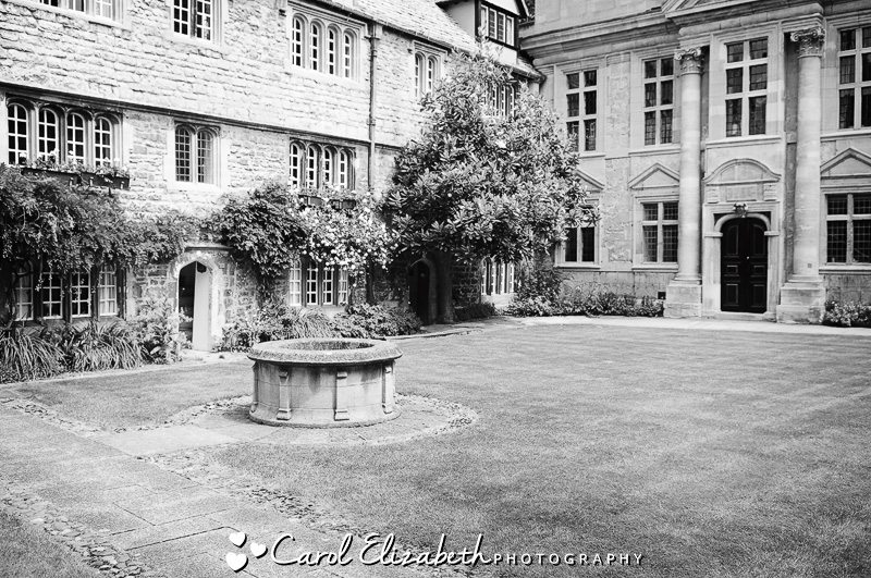 University of Oxford wedding at St Edmunds Hall by Carol Elizabeth Photography