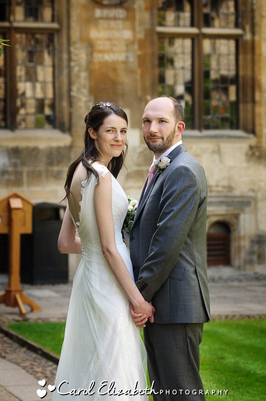 Professional wedding photography at Oxford College weddings