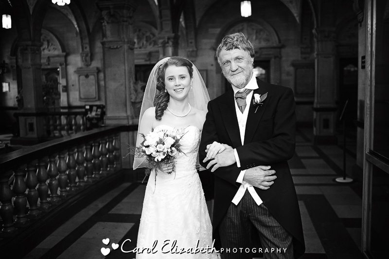 Oxford Town Hall weddings in a natural style - weddings at Oxford University