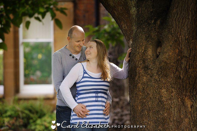 Natural engagement wedding photography