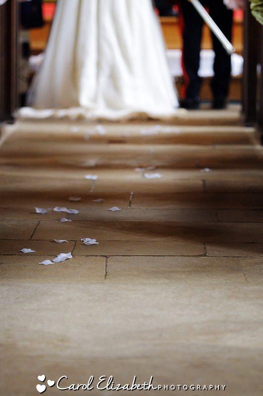 Informal church wedding ceremonies