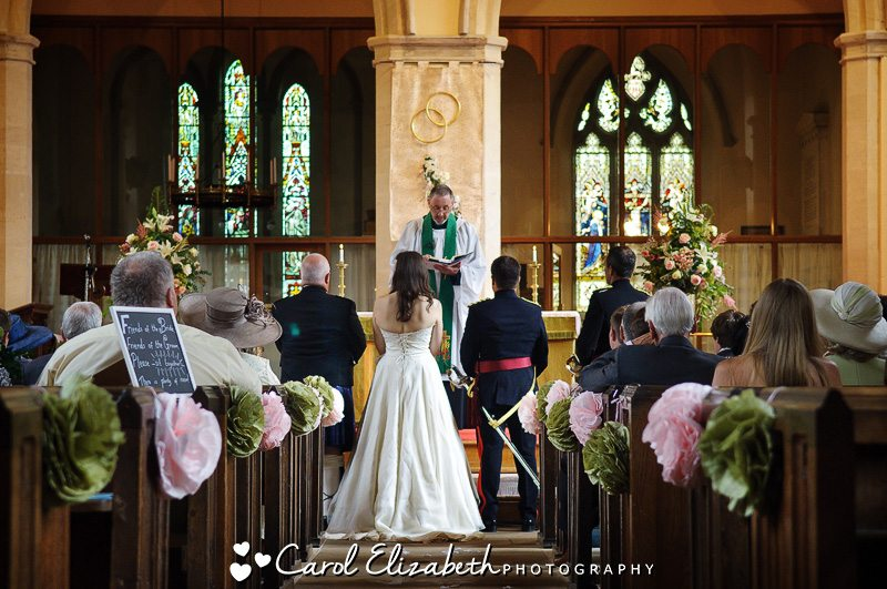 Wedding at All Saints Church in Oxfordshire