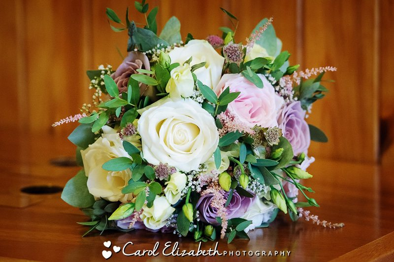Wedding bouquet in Oxford