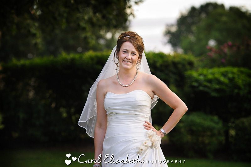 bridal portrait - wedding photographer in oxfordshire