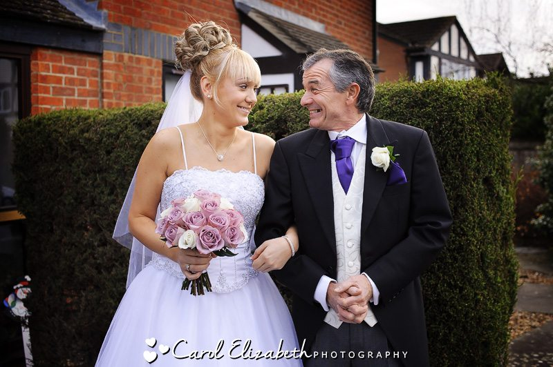 Traditional wedding photography in Oxfordshire