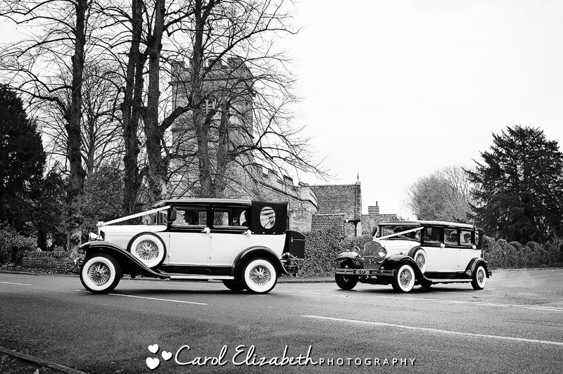 Wedding cars in Oxfordshire