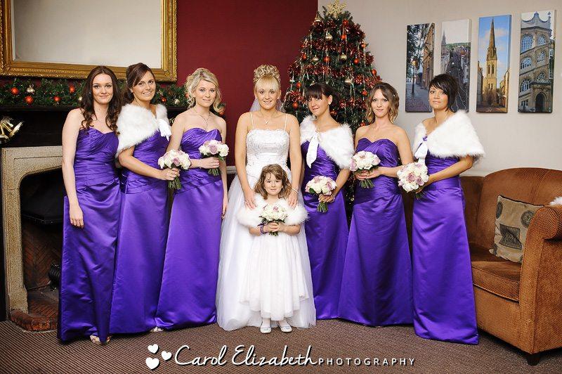 Hawkwell House winter weddings in Oxfordshire