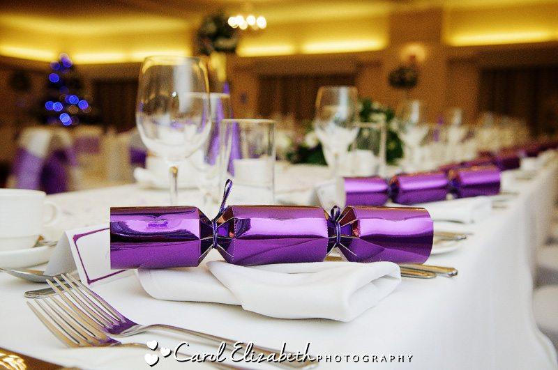 Christmas weddings at Hawkwell House