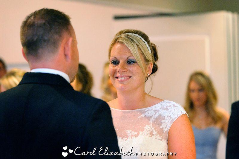 Civil wedding ceremony in Oxfordshire