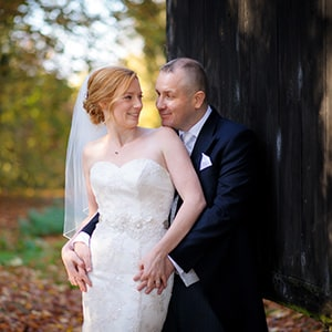 Wedding at Lains Barn near Oxford in Autumn