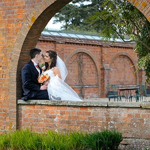 Wedding photography at Milton Hill