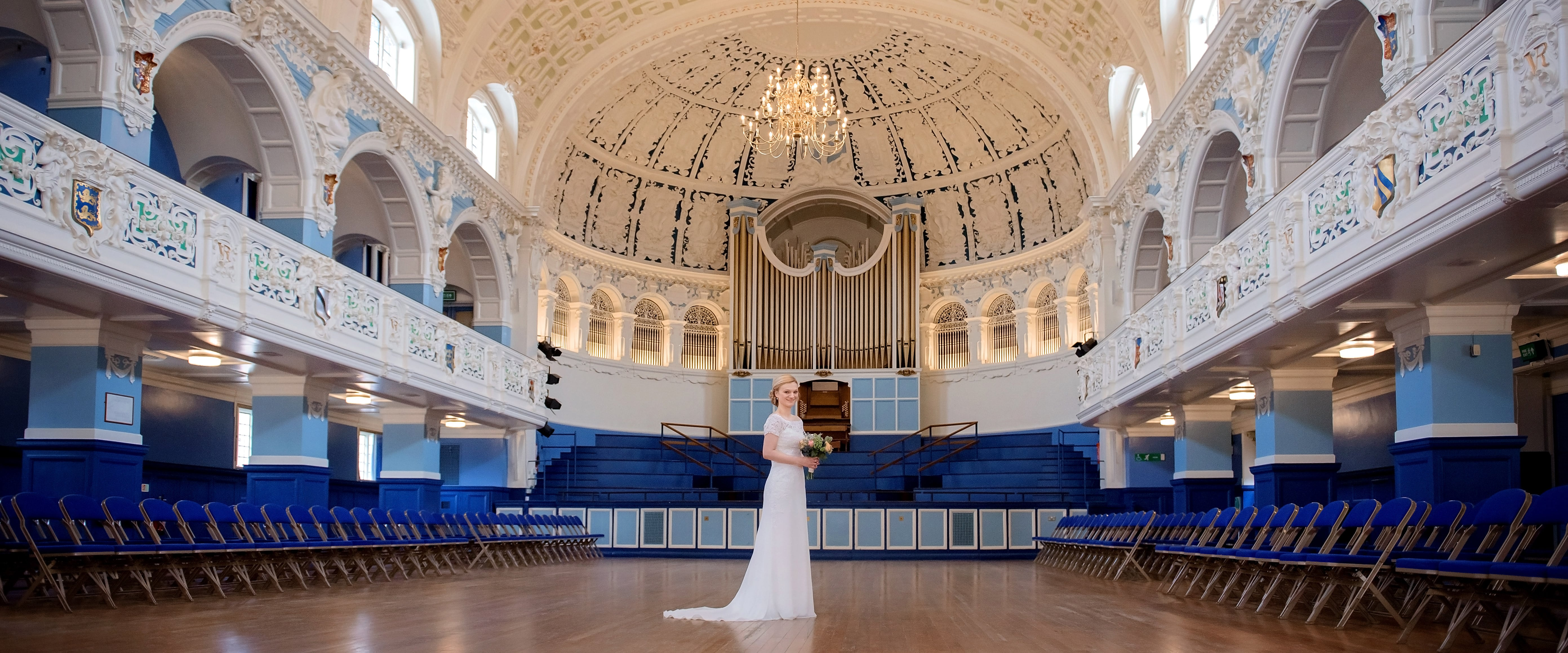 Beautiful bride at Oxford Town Hall wedding