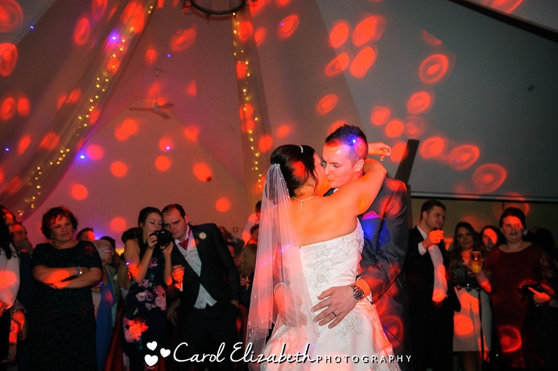 First dance with led lights