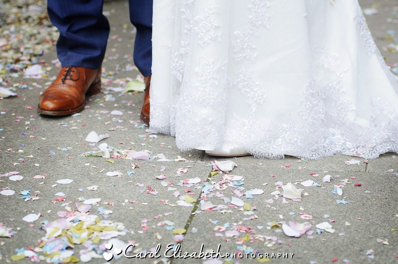 Vintage wedding photography in Lechlade