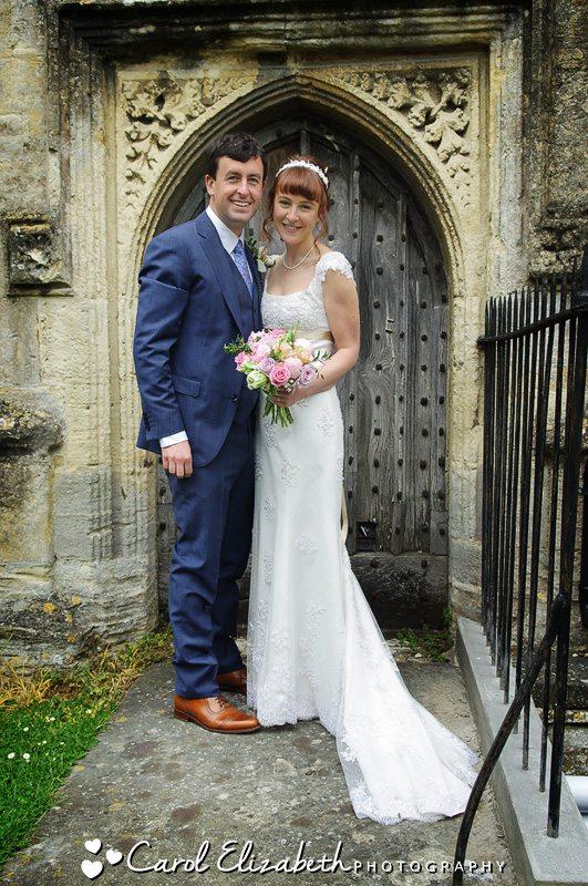 Church wedding photos in Gloucester