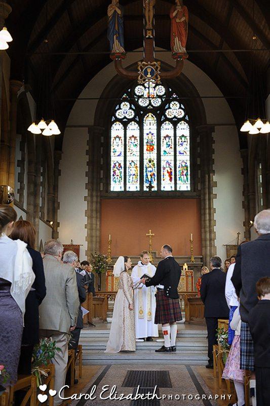 Oxford church wedding photographer