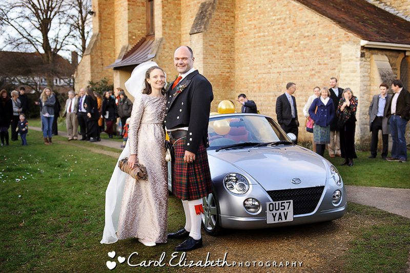 Wedding at St Michael and All Angels church - wedding photography in Oxfordshire