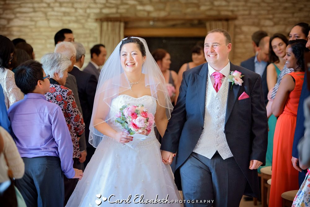 Caswell House wedding photographer in Oxford