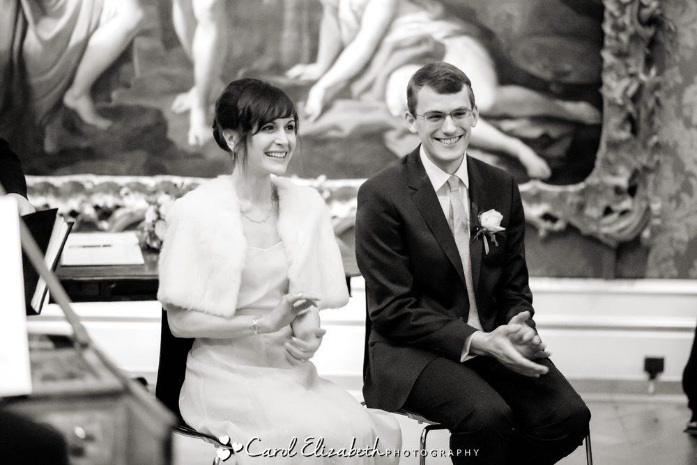 The Ashmolean Museum wedding ceremony