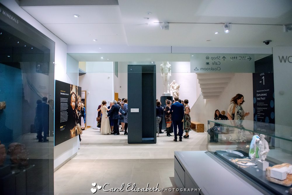 Wedding receptions at The Ashmolean museum
