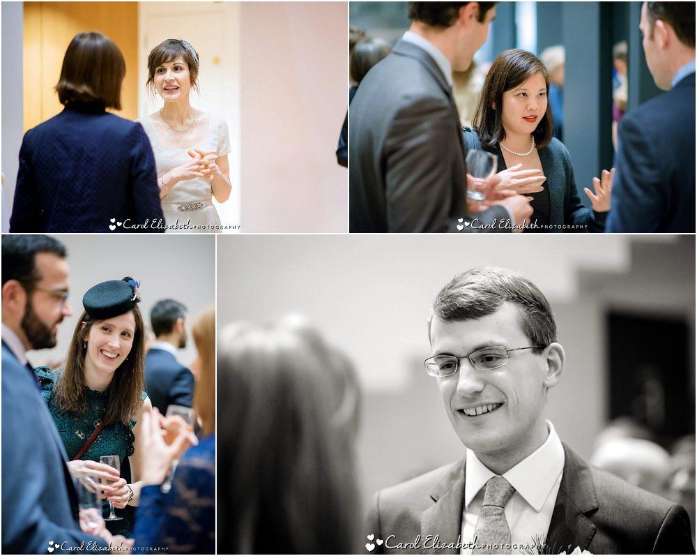 Reportage wedding photos at The Ashmolean