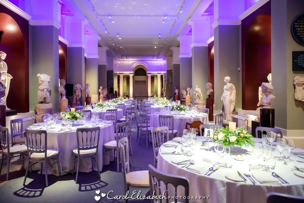 The Ashmolean museum wedding reception