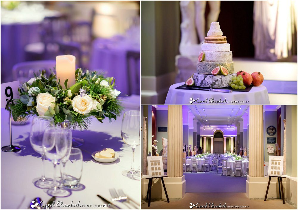 The Ashmolean Museum wedding reception room