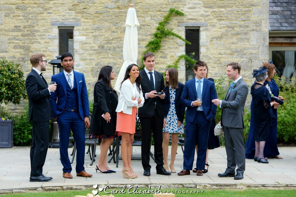 Guests at Caswell House wedding