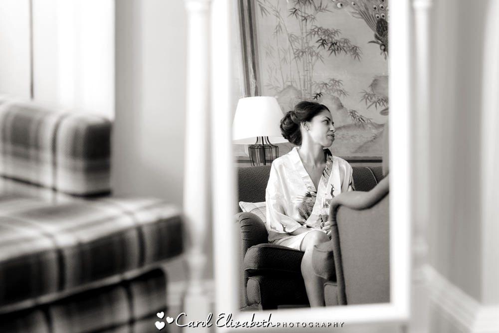 Bridal preparations at Eynsham Hall