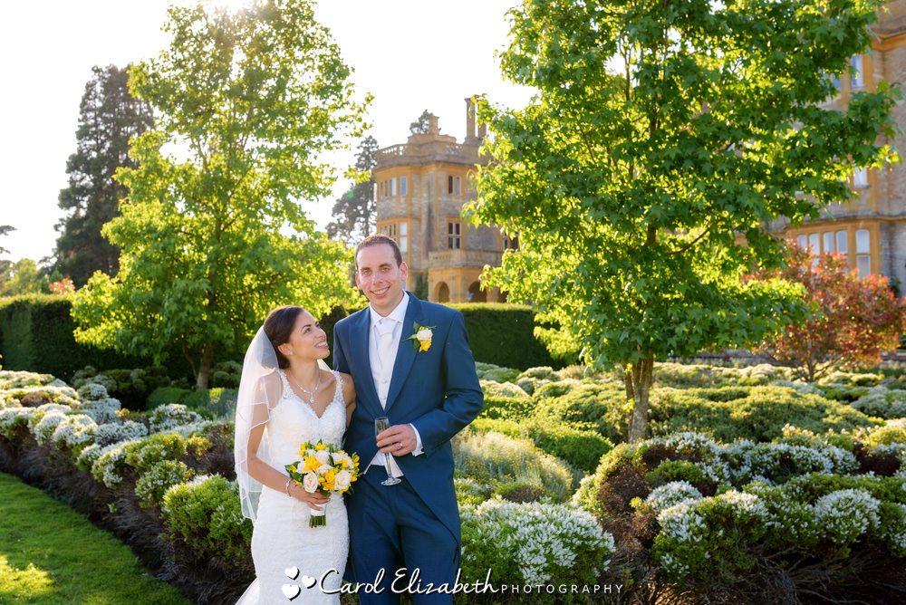 Wedding at Eynsham Hall in Oxfordshire