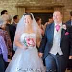 Wedding ceremony at Caswell House