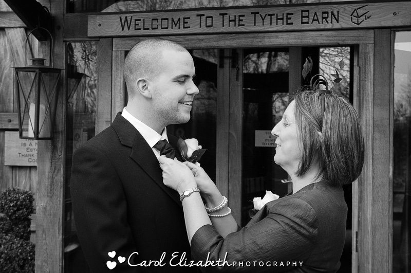 A relaxed and fun wedding at Tythe Barn Bicester - Laura and Jason