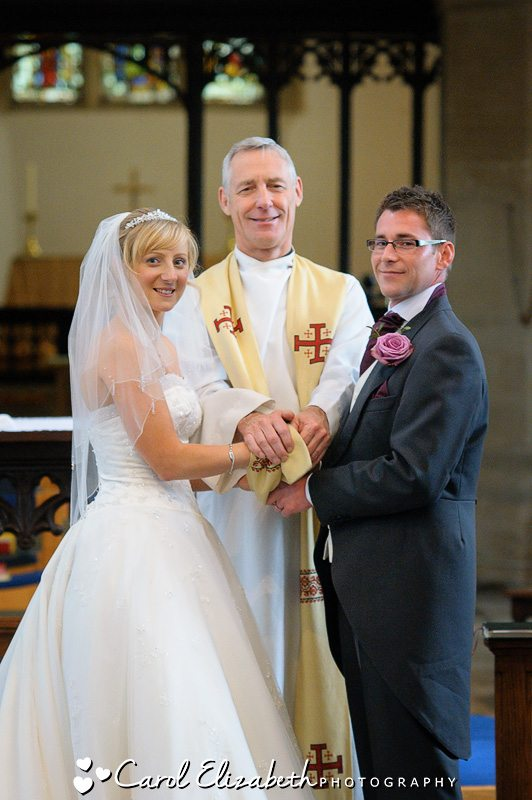 Wedding photographer in Oxfordshire for your church wedding
