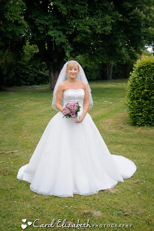 Bridal dress in Oxfordshire