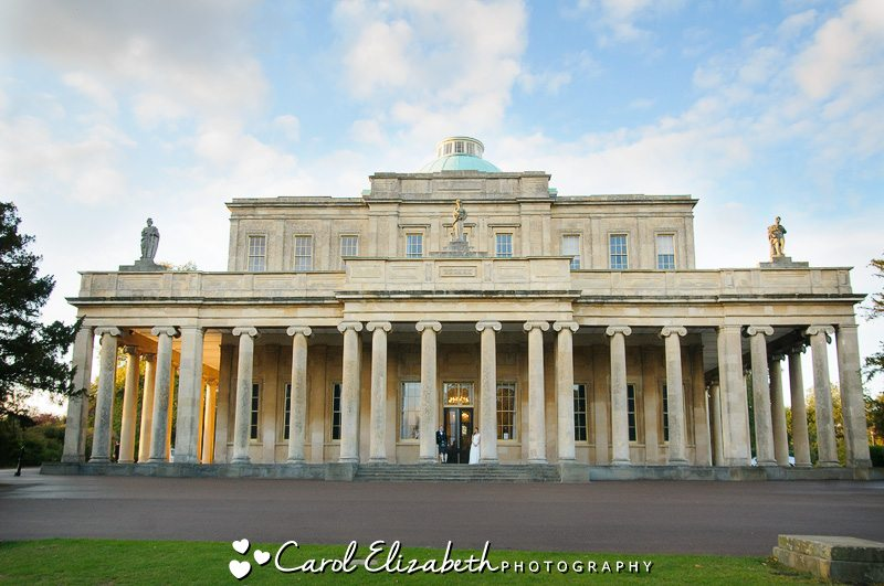 Informal wedding photography at Pittville Pump Room