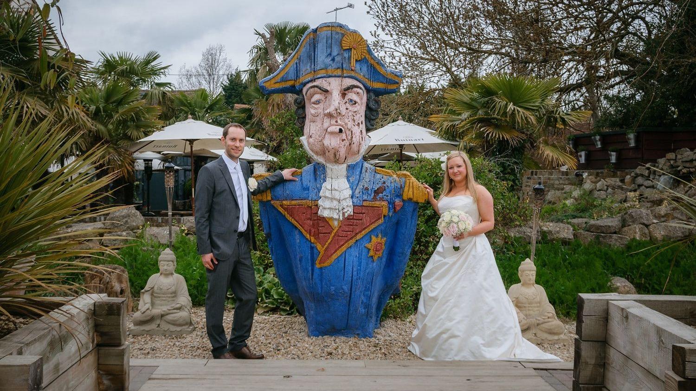 Wedding photography at Crazy Bear Stadhampton