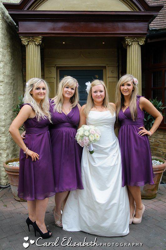 Wedding photographer crazy bear stadhampton