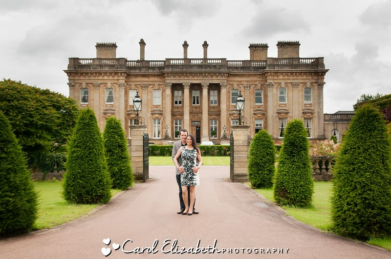 Professional wedding photographer at Heythrop Park weddings