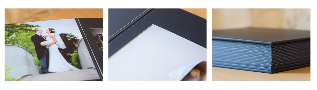 leather matted album