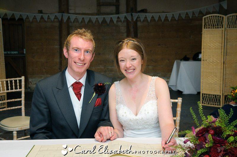 Civil ceremonies at Lains Barn
