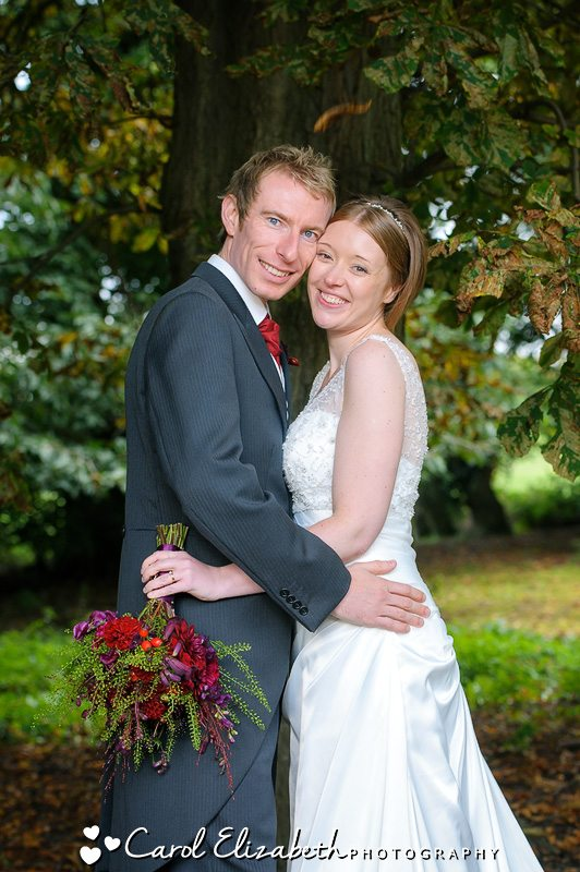 Beautiful Autumn wedding photography in Oxford