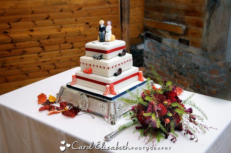 Informal wedding photography at Lains Barn