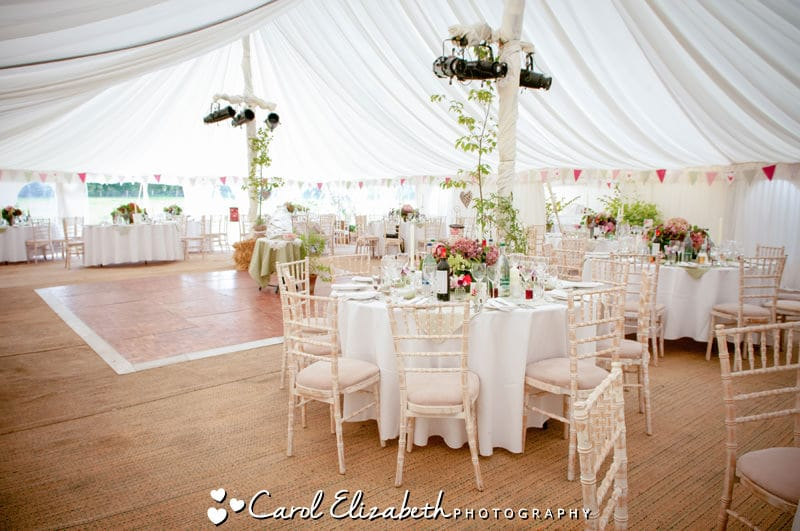 Oxfordshire marquee weddings