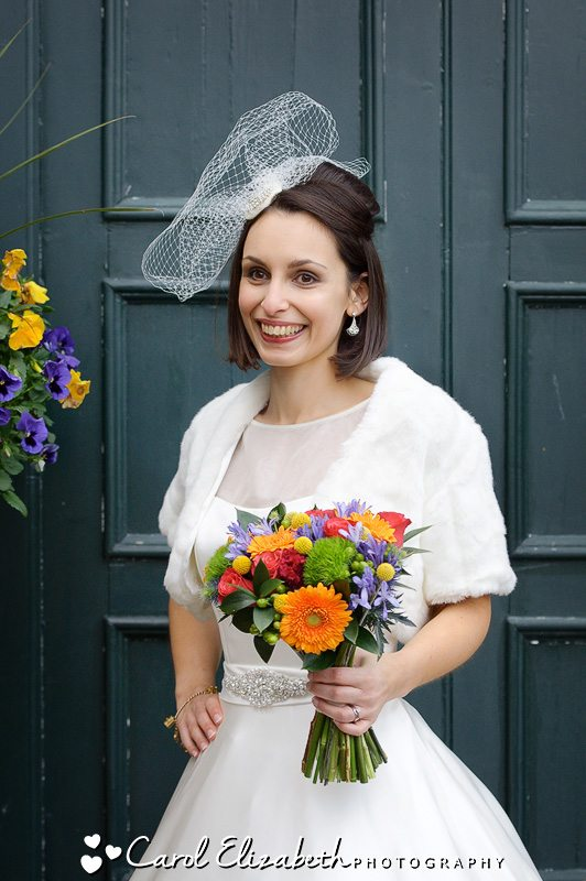 Traditional wedding photography at The Bay Tree in Burford weddings