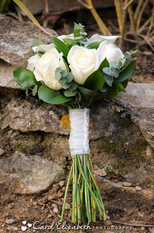 White bridal roses n Oxfordshire